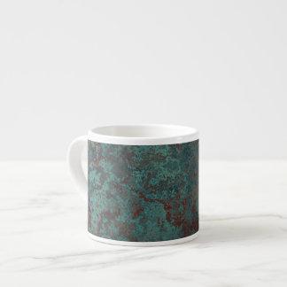 """Corrosion """"Copper"""" print mug espresso"""