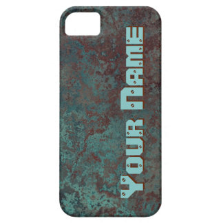 """Corrosion """"Copper"""" print 'Name' iPhone 5/5S iPhone SE/5/5s Case"""