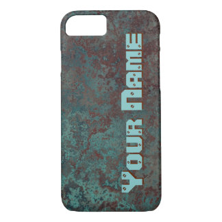 "Corrosion ""Copper"" print 'Name' iPhone 7 iPhone 8/7 Case"