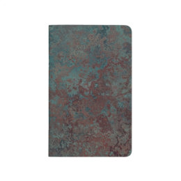 "Corrosion ""Copper"" print pocket journal"
