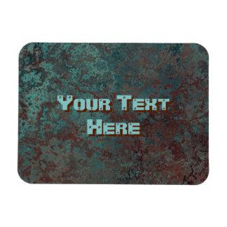 "Corrosion ""Copper"" print Text flexible Magnet"