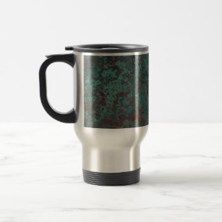 "Corrosion ""Copper"" print travel mug"