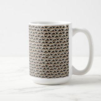 Corrugated cardboard mug