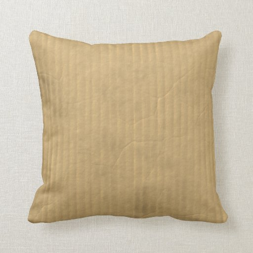 Corrugated Cardboard Texture Pillows