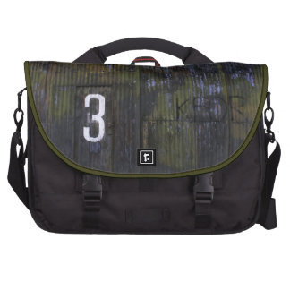 Corrugated Decay Laptop Bag