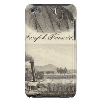 Corrugated iron steam yacht Case-Mate iPod touch case