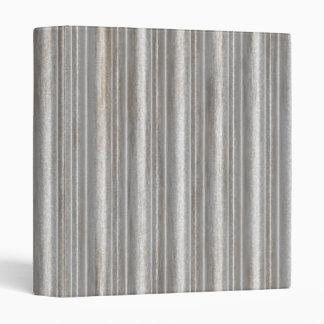 corrugated metal 3 ring binder