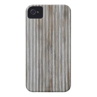Corrugated Metal Photo Printed iPhone 4 Case-Mate