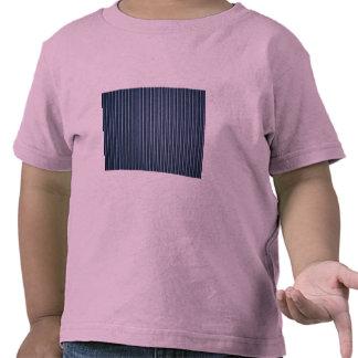 Corrugated metal siding t-shirts