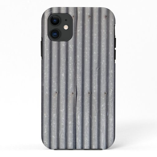 Corrugated Metal Texture iPhone 11 Case