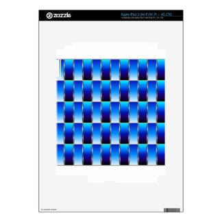Corrugated metal texture skin for iPad 3