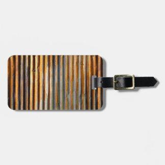 Corrugated Rust Bag Tag