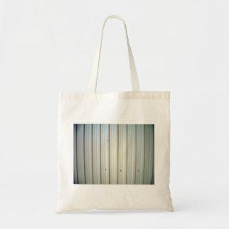 corrugated steel texture bag