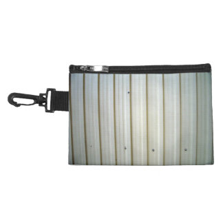 corrugated steel texture accessory bag