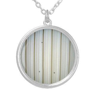 corrugated steel texture pendants