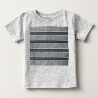 Corrugated Steel Textured Baby T-Shirt