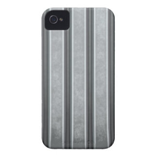 Corrugated Steel Textured iPhone 4 Case-Mate Case