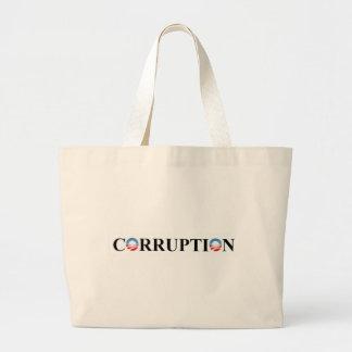 CORRUPCIÓN BOLSA TELA GRANDE