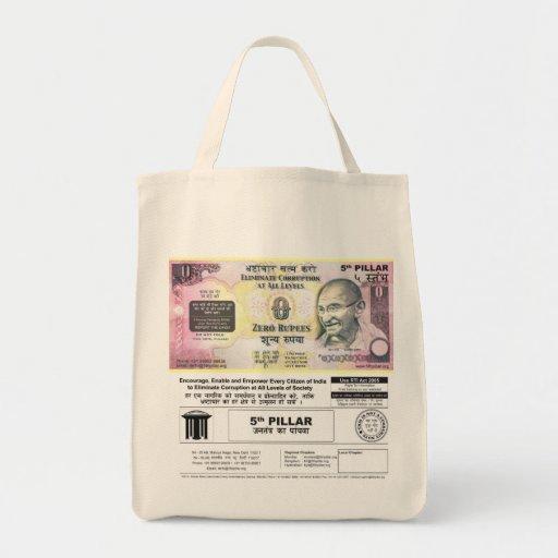 Corrupción de la lucha bolsa de mano