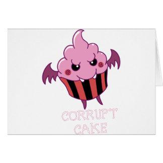 Corrupt Cake Card