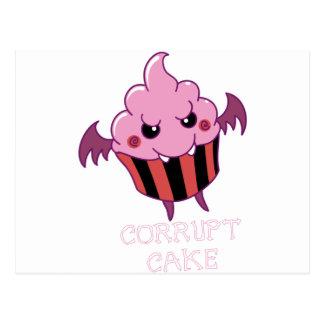 Corrupt Cake Postcard
