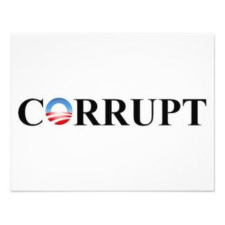 CORRUPT CUSTOM ANNOUNCEMENT