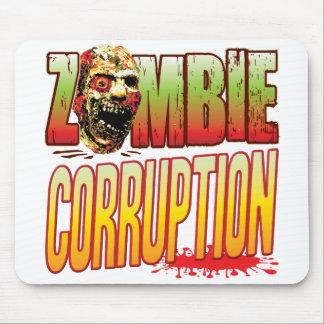Corruption Zombie Head Mousemat