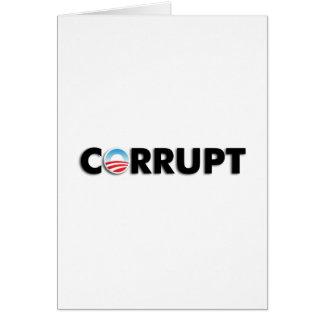 Corrupto Felicitacion