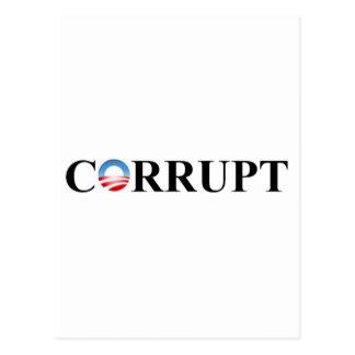CORRUPTO TARJETA POSTAL
