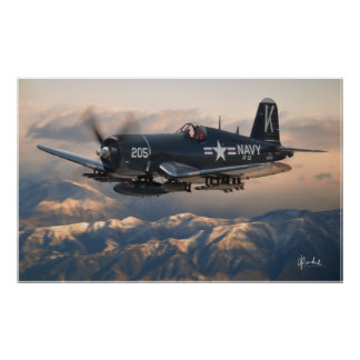 Corsair and the Mountains Poster