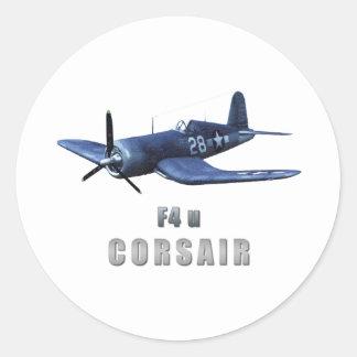 Corsair Classic Round Sticker