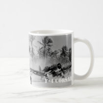 CORSAIR FIGHTER AIRCRAFT F-4 COFFEE MUG