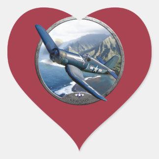 Corsair Heart Sticker