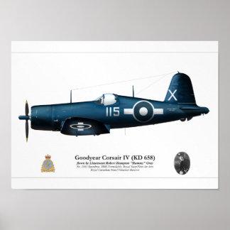Corsair IV (Robert Gray) Poster