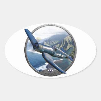 Corsair Oval Sticker