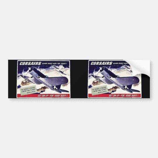 Corsairs Bumper Sticker