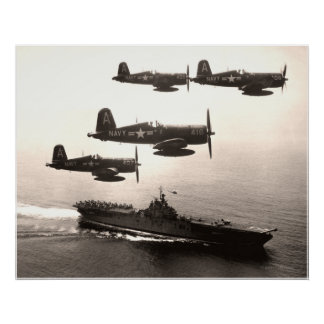 Corsairs Coming Home Poster