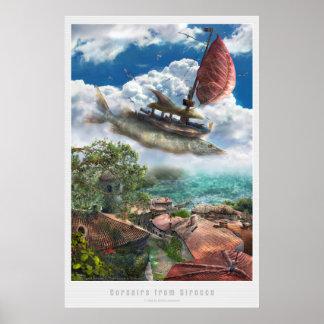Corsairs from Sirroco Print