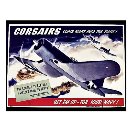 Corsairs Postcard