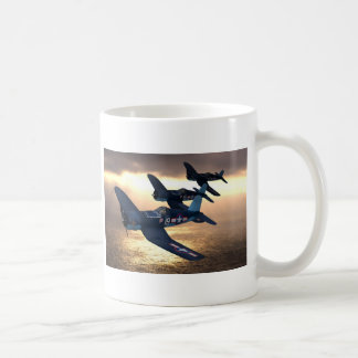 Corsario de F4u Tazas De Café
