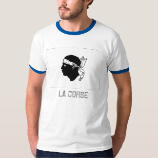Corse flag with name T-Shirt