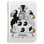 Corser Family Crest Kindle 3G Case
