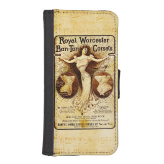 Corsés reales de Worcester Fundas Tipo Billetera Para iPhone 5