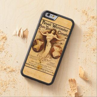 Corsés reales de Worcester Funda De iPhone 6 Bumper Arce