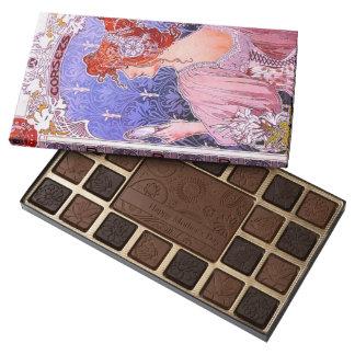 Corset Ad 1890 Assorted Chocolates