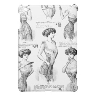 Corset Ad Paris Winter 1909-1910 iPad Mini Cover