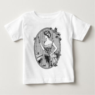 Corset advertising, France 1900 Baby T-Shirt