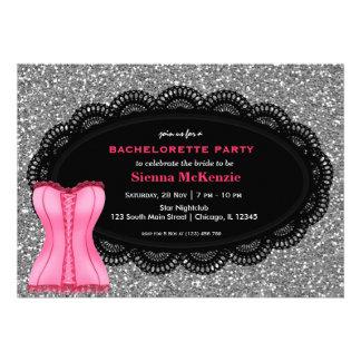 Corset Bachelorette Party Announcements