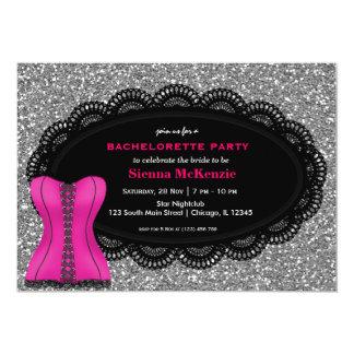 Corset Bachelorette Party Card