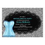 Corset Bachelorette Party Custom Invites